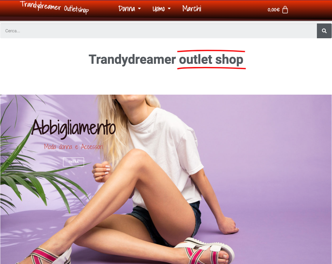 TrandyDreamer Outlet Shop