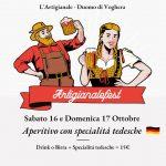 16 – 17 ottobre: German Weekend all'Artigianale!
